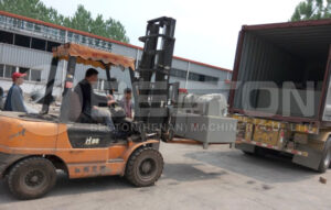 Shipment of Beston Tyre Pyrolysis Plant to Brazil