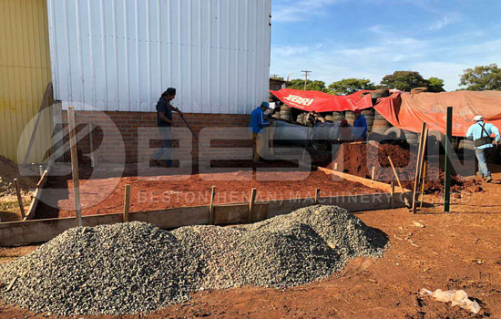 Waste Tire Pyrolysis Plant Installed in Paraguay