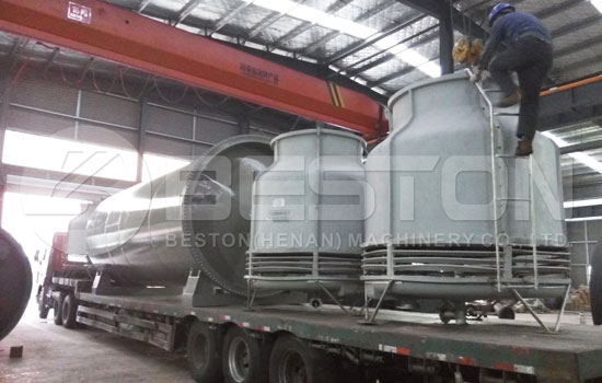 Waste Tyre Pyrolysis Plant Shipped to Brazil